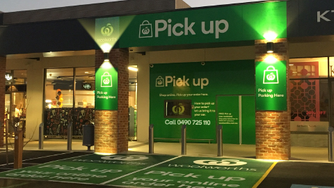Woolworths first to roll out Pick Up service nationally for