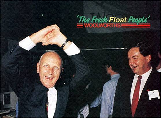 1993: Woolworths Share Float