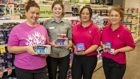 Woolworths supports March Dignity Drive with growing period poverty