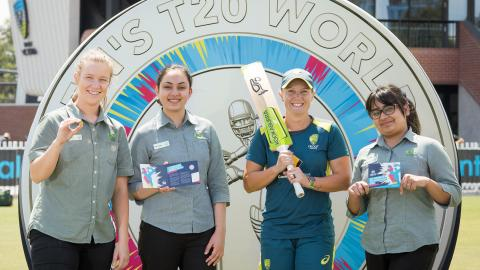 Female cricketer featured on Australian coinage for the first time in celebration of ICC Women's T20 World Cup
