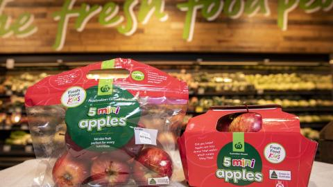 Woolworths further reduces plastic packaging and reaffirms its commitment to a greener future