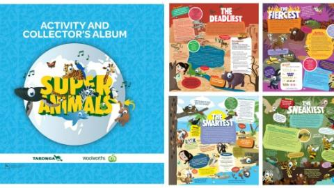Woolworths Super Animals roar onto screens