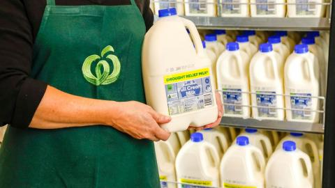 Woolworths continues to deliver drought relief to dairy farmers