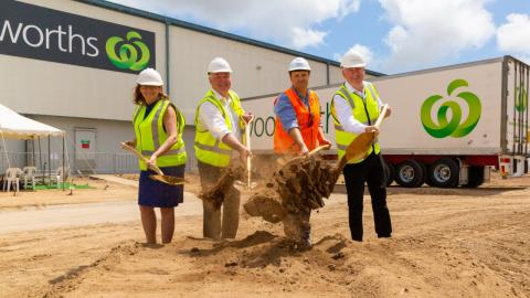 Woolworths starts work on $12m expansion of Townsville Distribution Centre
