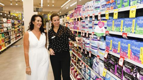 Share the Dignity launches sanitary product collection drive across Woolworths