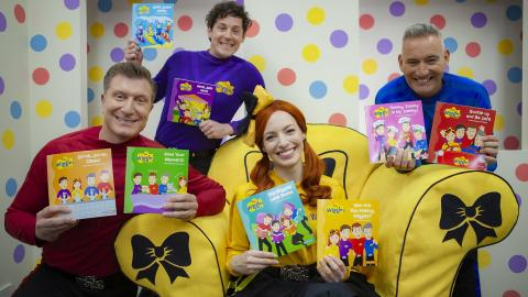 "BIG W's Free Books For Kids Returns with The Wiggles New ""Here to Help"" Series"