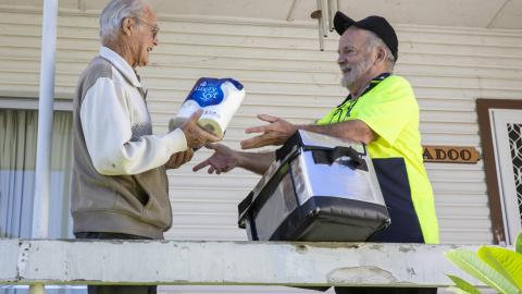 Woolworths partners with Meals on Wheels to support elderly