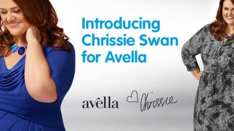 Chrissie Swan new face of BIG W's Avella Range