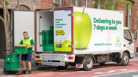 Woolworths temporarily converting three Melbourne stores to online delivery hubs