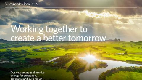 Woolworths Group Sustainability Plan 2025