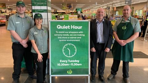 Woolworths rolls out Quiet Hour to select stores across Australia
