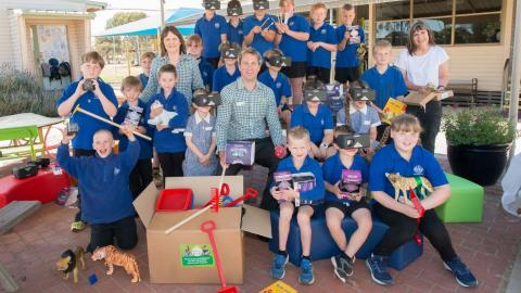 Remote schools receive educational boost through Woolworths Earn & Learn program