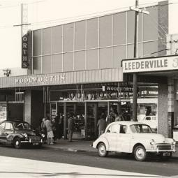 Leederville, WA, site of first Liquor Store - 1961