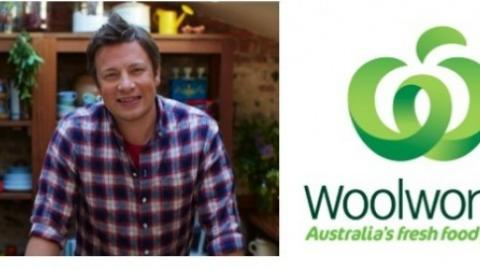 Woolworths is the official food partner for Jamie Oliver's Ministry of Food  Australia